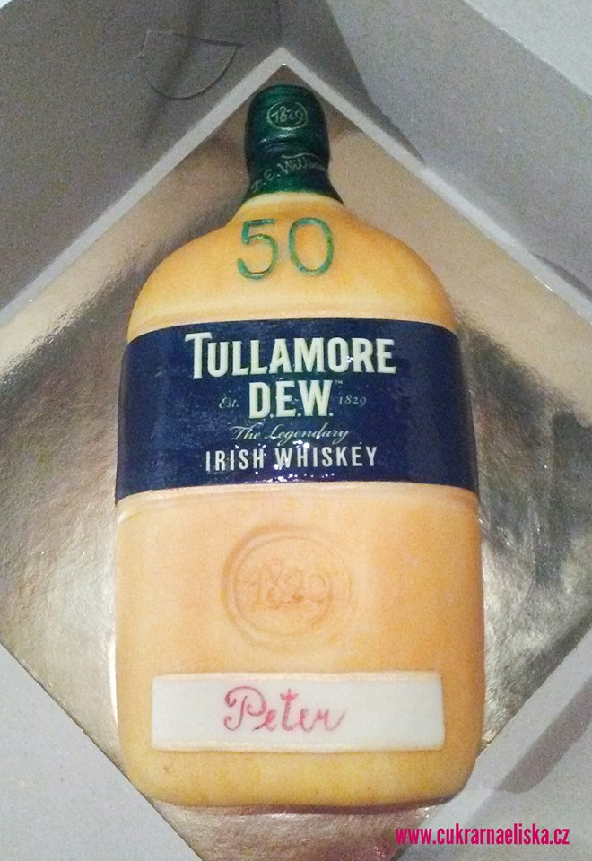 Lahev TULLAMORE DEW WHISKEY